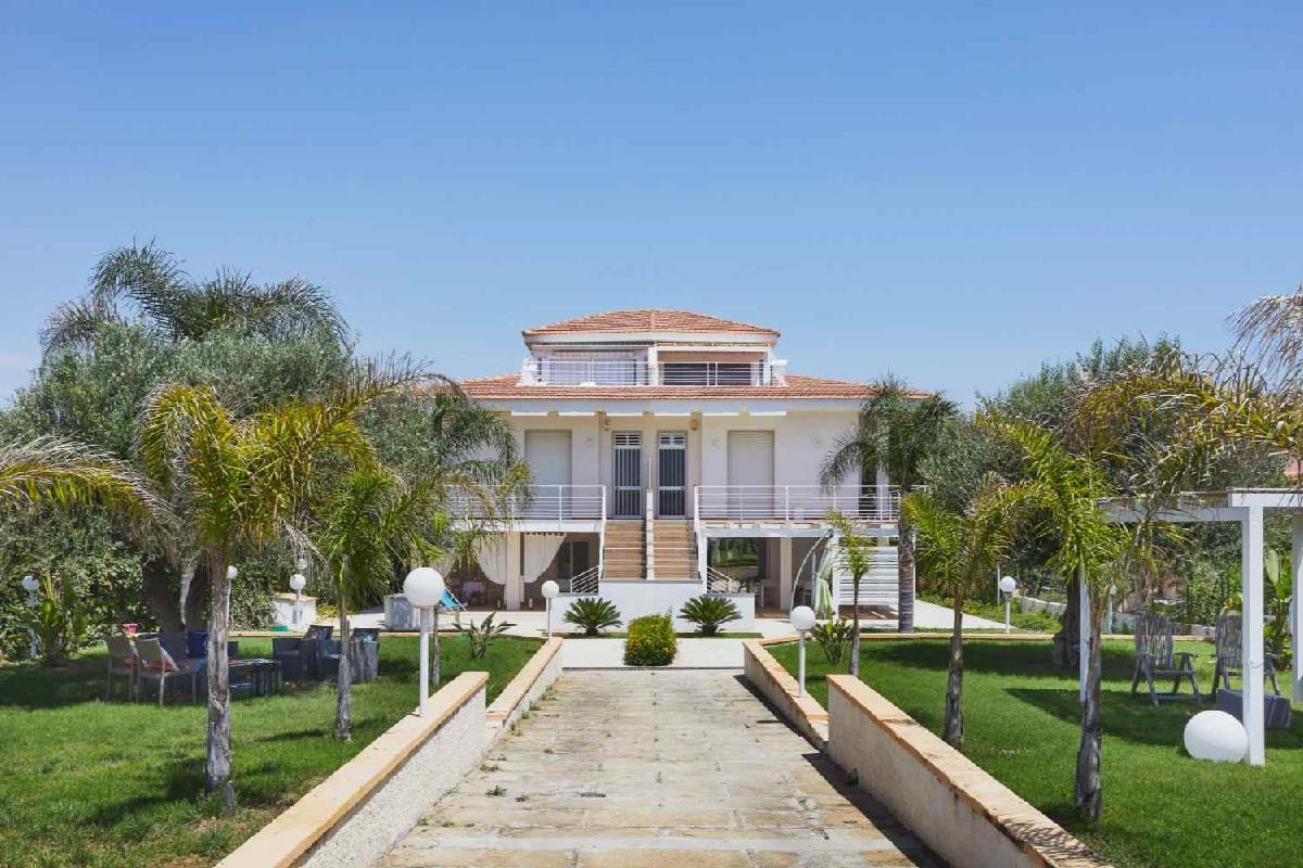 Villa Marina blu Pozzallo Sicilia